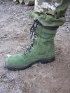 Ботинки армии Голландии зеленые